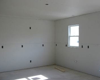 Drywall Installed, Ready for Taping